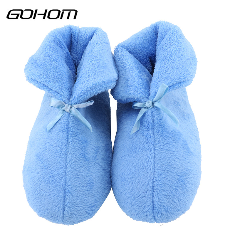 fd4387c4480 GOHOM 2017 NEW female Home Slippers Style Eight Solid Color Ladies Lovely  Shoes Indoor Winter Best Warm Women Slippers -in Slippers from Shoes on ...