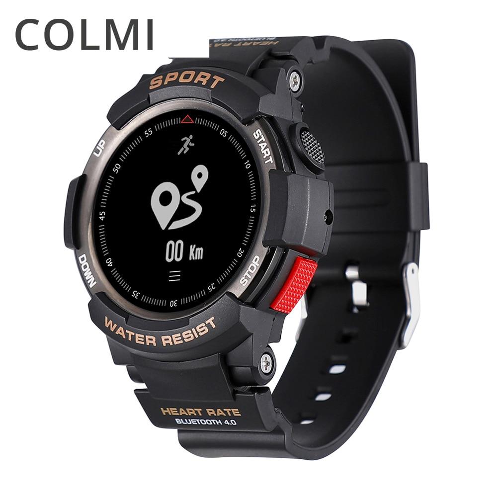 COLMI Bluetooth умные часы для мужчин водостойкий Шагомер фитнес-трекер Smartwatch С дистанционной камерой для Android IOS
