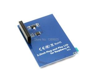 Image 5 - 무료 배송 3.2 인치 TFT LCD 디스플레이 모듈 터치 스크린 라스베리 파이 B + B A + 라즈베리 파이 3