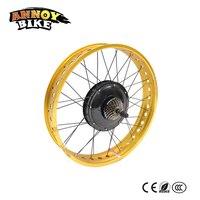 48v 1000W 24 26 4.0 Electric Fat Bike Conversion Kit Dirty Bike Kit Electric Snow Bike DIY kit