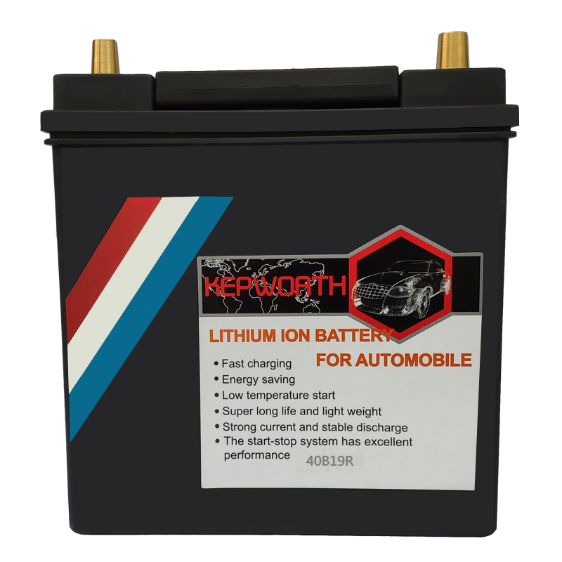 40B19L/R Motor Car <font><b>LiFePO4</b></font> <font><b>battery</b></font> <font><b>12V</b></font> <font><b>40AH</b></font> CCA 750A Rechargeable lithium Iron <font><b>battery</b></font> Jump Starter With BMS Voltage Protection image
