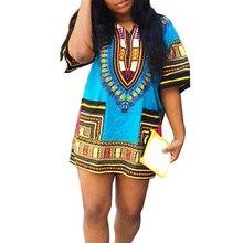 Boho Delle Donne di Autunno Abito Tunica Hippie Punk Tradizionale Dashiki  Top Abiti Shirt per Abbigliamento 3dc5b99546a