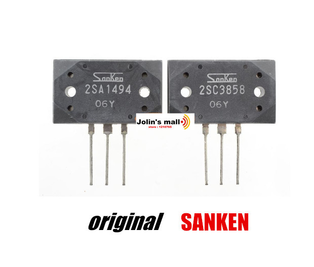 200 Вт усилитель мощности 10 пар/партия кремния NPN + PNP чипы 2SA1494 2SC3858 MT-200