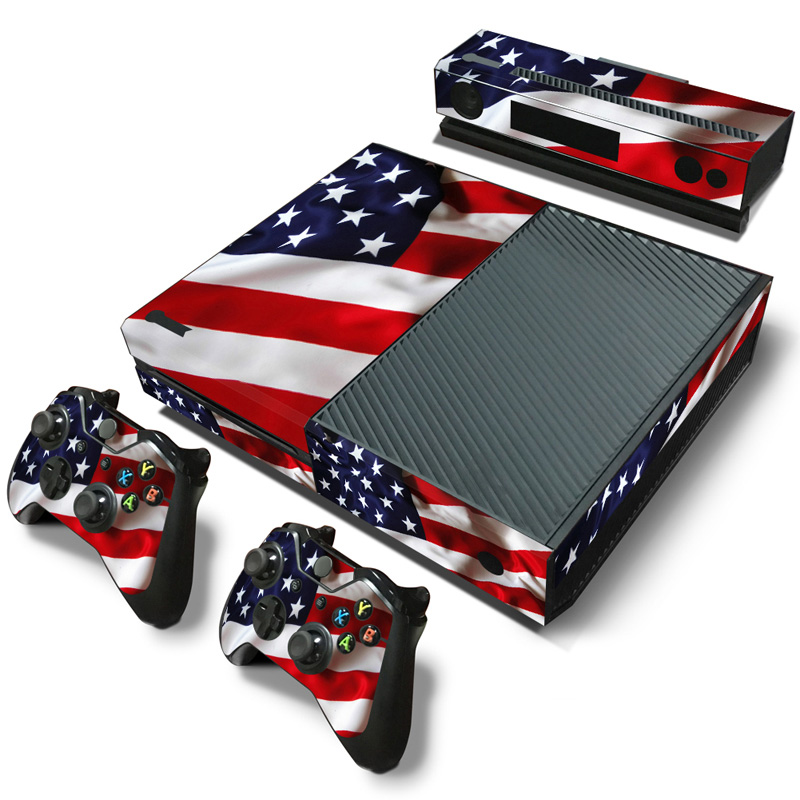 free drop shipping Mini Game MachineStickers Set Controller Host Handle Cover Skin Decoration for xboxone #TN-Xboxone-2039