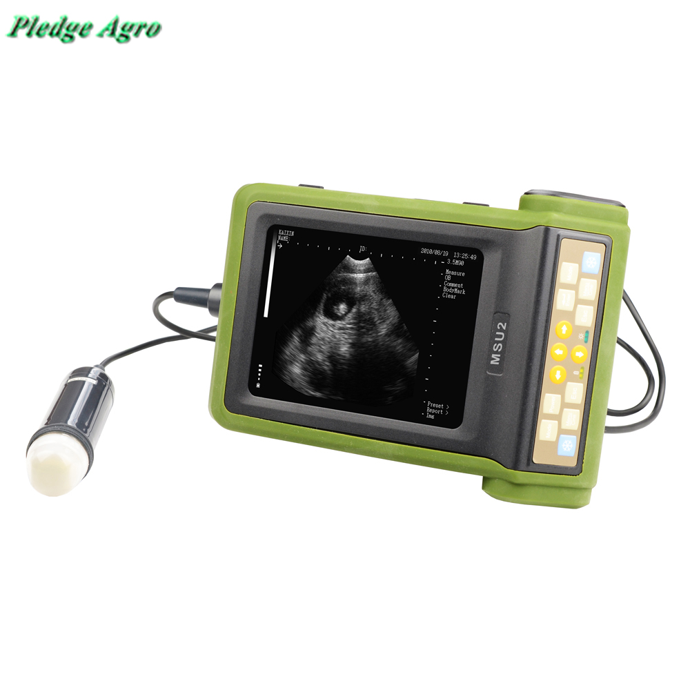 Ultrasound Scanner Veterinary Hand Held Portable Vet Machines Animals Farm Tools Clinic For Pig Sheep Dog Swine Canine Ovine