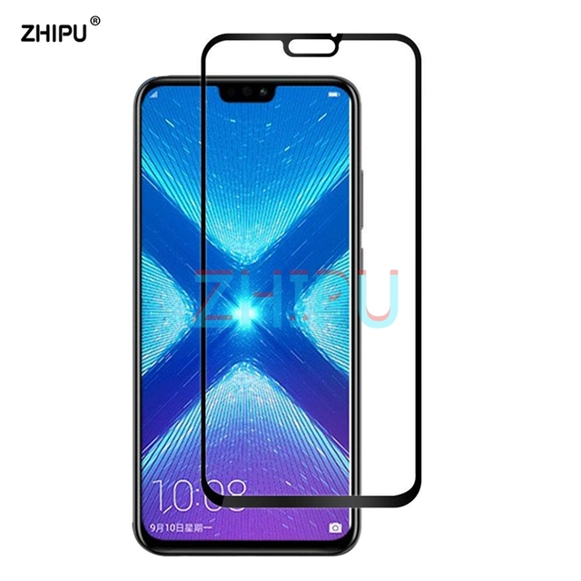 Full Cover Tempered Glass for Huawei Honor 8X Screen Protector FOR Huawei...
