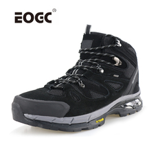 High Quality Hiking Shoes Genuine Leather Men Boots Waterproof Anti-Slip Outdoor Climbing Trekking Shoes Outdoor Shoes Men clorts hiking shoes for men outdoor hiking boots high top waterproof trekking shoes male breathable climbing shoes hkm 823a b f