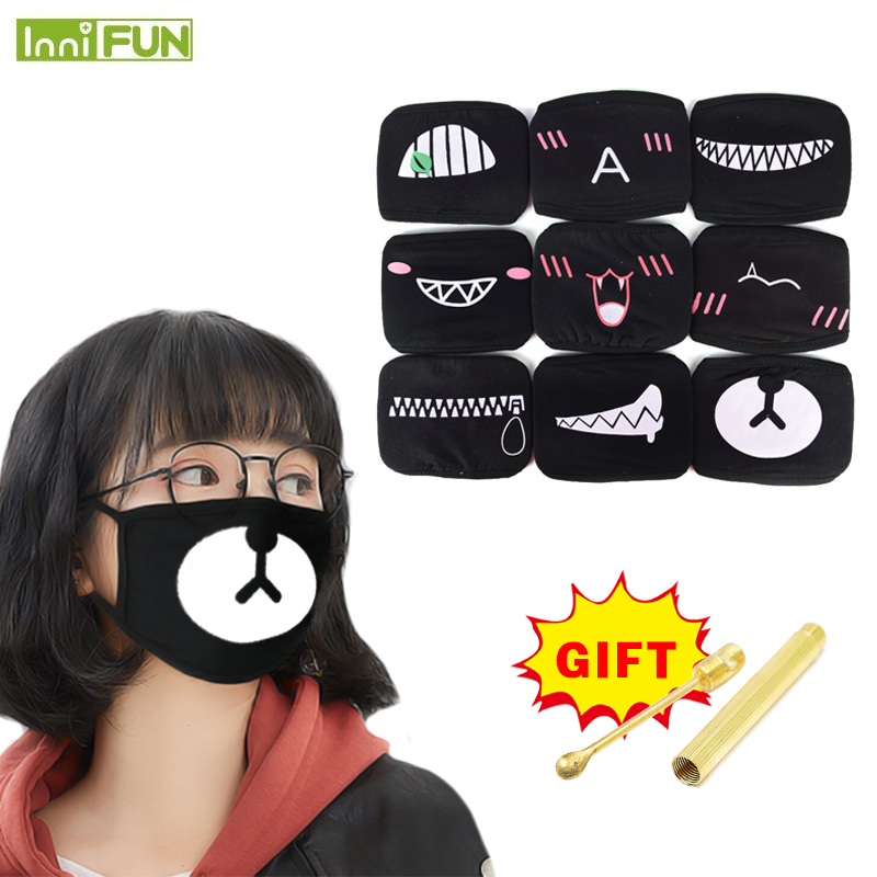 Cute Cotton Face Mask Anti Dust Haze Cold Breathing Mouth Mask Outdoor Riding Protection