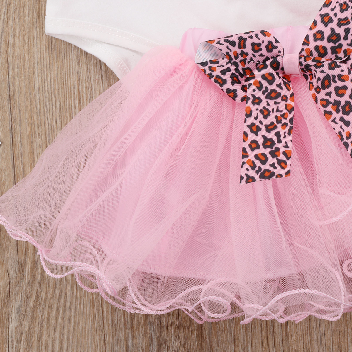 Pudcoco Newborn Infant Baby Girl Princess Clothing Sets Cotton Romper Tops Playsuit+Tulle Skirt Outfits