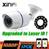 XINFI HD 1080 마력 PoE IP 카메라 2MP 레이