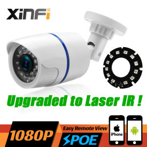 XINFICAM HD 1080P PoE IP Camera ONVIF CCTV Camera with