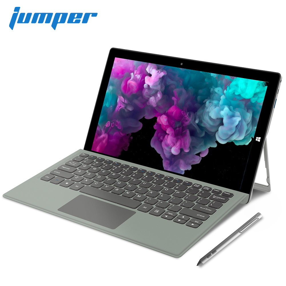 Jumper EZpad Go 2 en 1 tablette PC 11.6 pouces IPS affichage windows tablette avec stylo Intel Apollo Lake N3450 4GB RAM 128GB SSD tablette