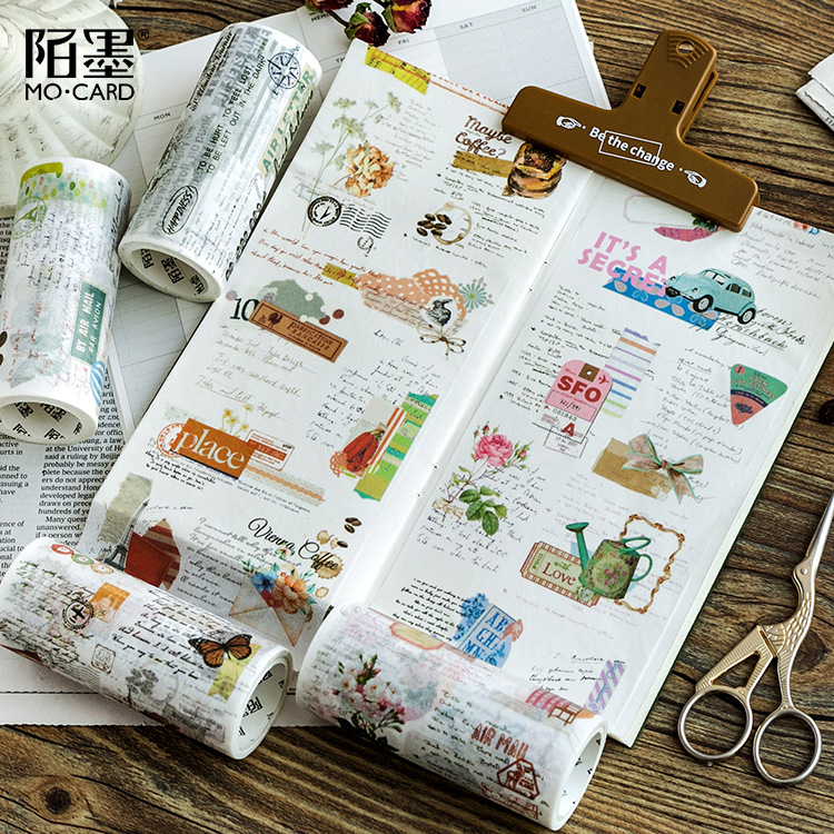 10 Cm Wide My Collage Washi Tape DIY Scrapbooking Masking Tape School Office Supply Escolar Papelaria