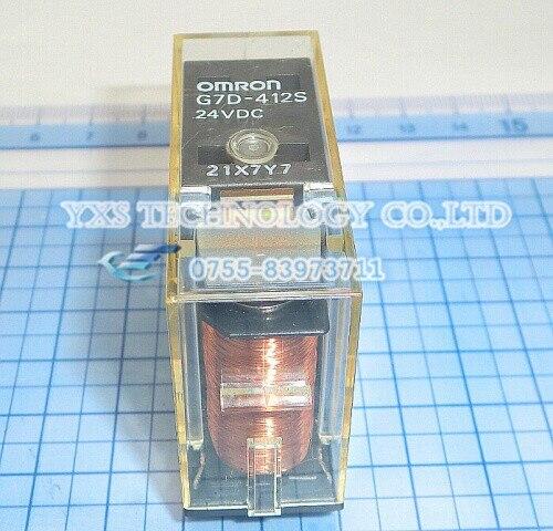 ФОТО free shipping!!! 10pcs/lot G7D-412S 24VDC relay