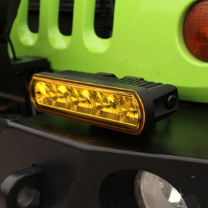 Image 5 - 8 pouces 40W mince barre de Led hors lumière de route pour voiture 12V 24V Wrangler jk ATV SUV camion moto faisceaux dinondation Barra 4x4 feux de route
