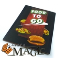 Food To Go by George Iglesias and Twister Magic, stage magic trick product / wholesale / free shipping