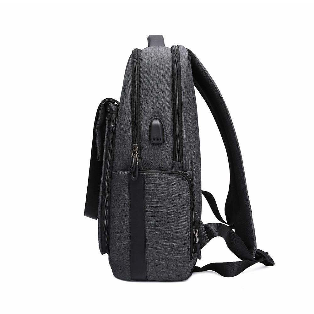 Anti diebstahl Rucksack USB Lade Anti theft Passwort Lock Rucksack Abnehmbare mehrzweck männer Tasche - 4