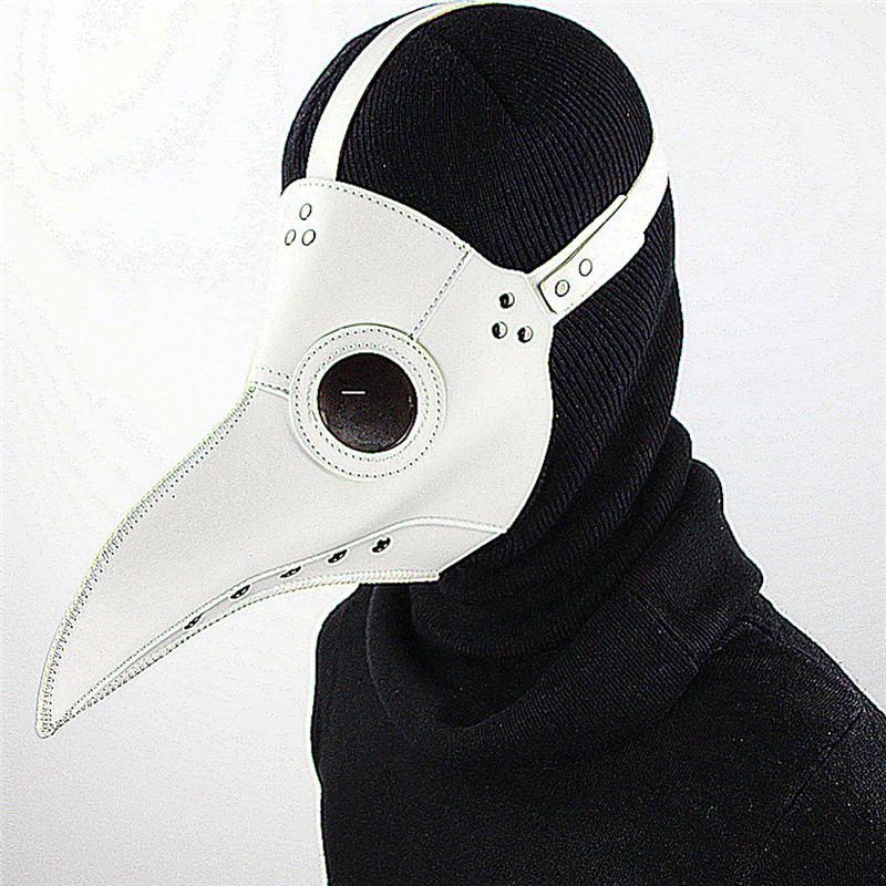 YeBmin High Quality PU Leather The Plague Doctor Mask Steampunk Gothic Retro Rock Mask Halloween Cosplay Art Props Toys thorgal vol 17 the blue plague