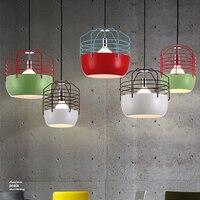 Modern Hanging Lamps Nordic Pendant Lights Fixture Restaurant Home Indoor Lighting Dining Room Cafes Pub Study Bedroom Droplight