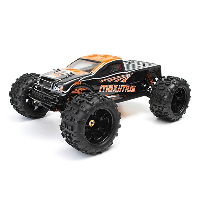 Voiture de camion monstre RC sans brosse tu Maximus 8382 1/8 120A 85 KM/H 4WD