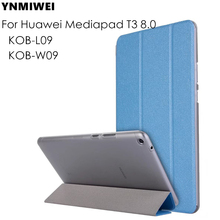 Case For Huawei Mediapad T3 8.0 KOB-L09 KOB-W09 Tablet Flip Case for Honor Play Pad 2 8.0 protective cover skin +Free Gift цена
