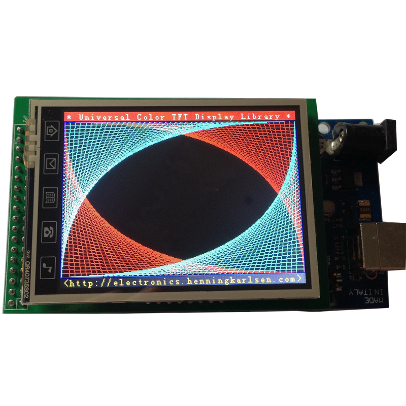 2 8 2 8 inch TFT LCD Screen Display Shield SD Socket Touch Panel Module for