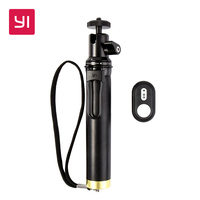 YI Selfie Stick And Bluetooth Remoter For YI Action Camera Sports Mini Camera Smart Cellphones YI