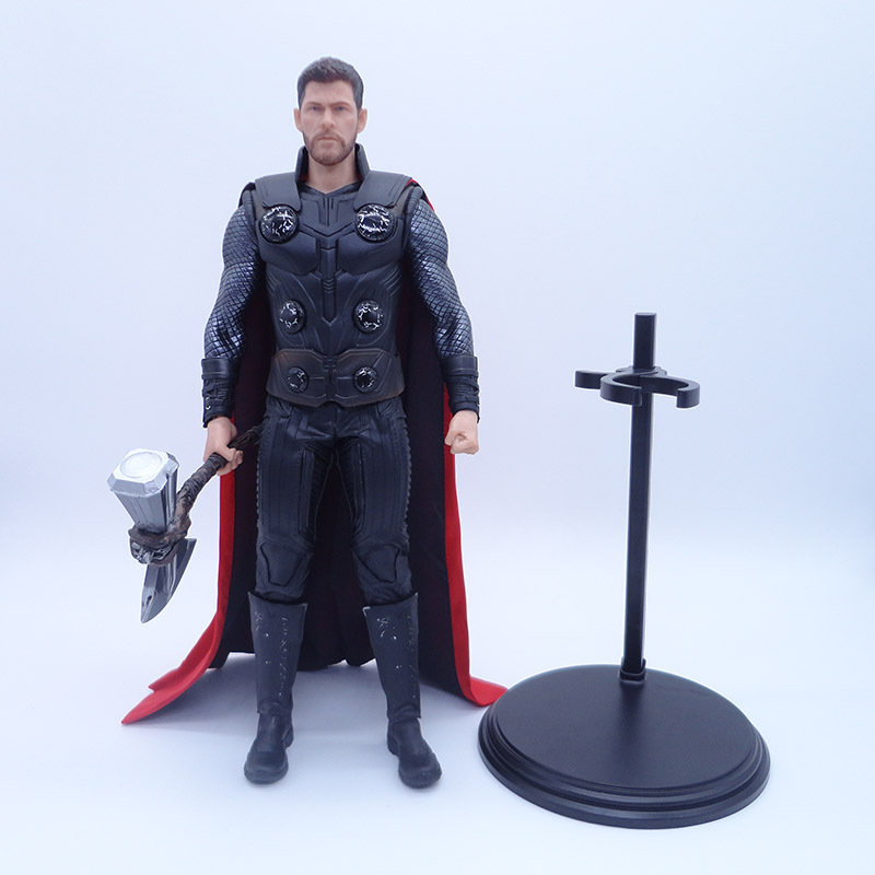 Anime 1 6 Scale Painted Figure Avengers Infinity War Empire Toys Stormbreaker Version Thor Action PVC
