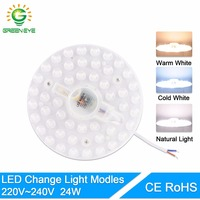 GreenEye Long Life 12W 18W 24W LED Panel Ceiling Light Lamp Replace Downlight Accessory Magnetic Source
