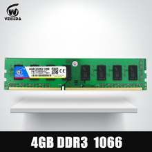 Memory ram DDR3 4gb 1066Mhz ddr 3 4gb PC3-8500 Memoria 240pin for All AMD Intel Desktop Warranty Life