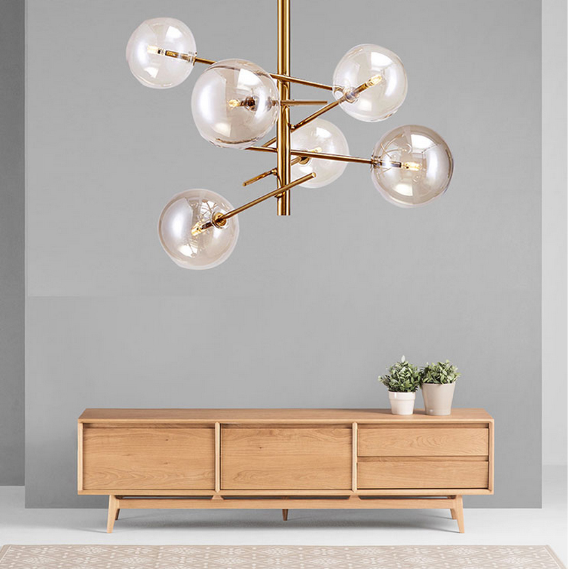 Led G4 Postmodern Nordic Iron Glass LED Lamp LED Light Pendant Lights Pendant Lamp Pendant Light