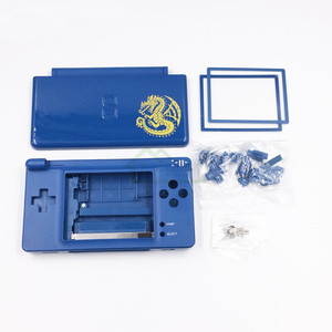 Image 4 - עבור NDSL מהדורה מוגבלת החלפת Shell Case כיסוי עבור Nintendo DS Lite פגז דיור עם כפתור ערכת סט מלא