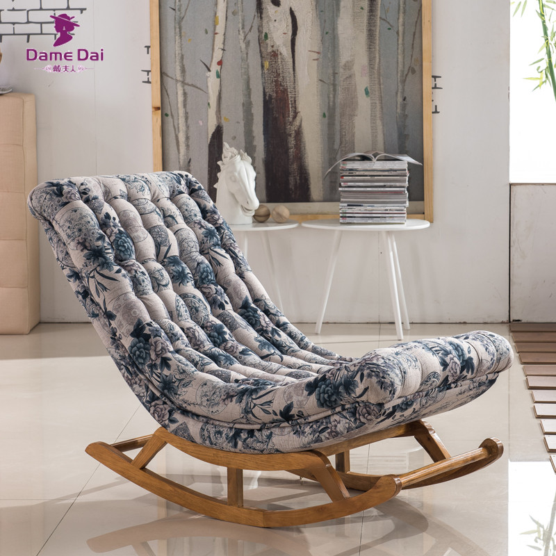 Great Aliexpress.com : Buy Vintage Rocking Chair Fabric Upholstery Classical  Luxury French Style Furniture Living Room Vintage Adult Relax Rocking Chair  From ... Part 22
