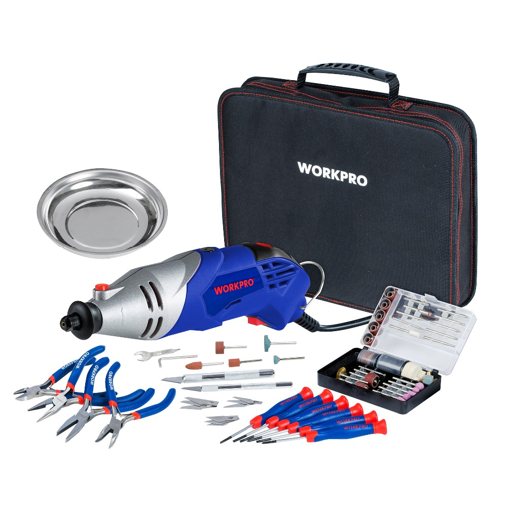 Aliexpress Com Buy Workpro 152pc Variable Speed Dremel
