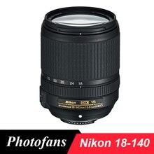 ניקון 18 140 AF S DX NIKKOR 18 140mm f/3.5 5.6G ED VR עדשה עבור ניקון D3200 D3300 D3400 D5200 D5300 D5500 D5600 D7100 D7200