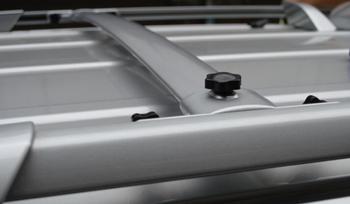 багажник на крышу | Высокое качество алюминиевого сплава посвященный бокового рельса перекладина для Highlander 2008 2009 2010 2011 2012 2013 2014