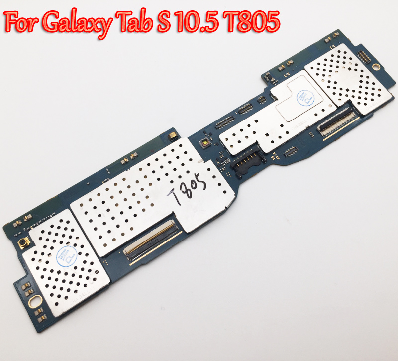 Tested Full Work Unlock Motherboard For Samsung Galaxy Tab S 10 5 T805 Logic Circuit Electronic