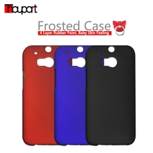Thouport Rubber Paint PC Hard Cover For HTC One M8 One+ Case Frosted Ring Holder Cat Fashion For HTC M8 / All New HTC One Case