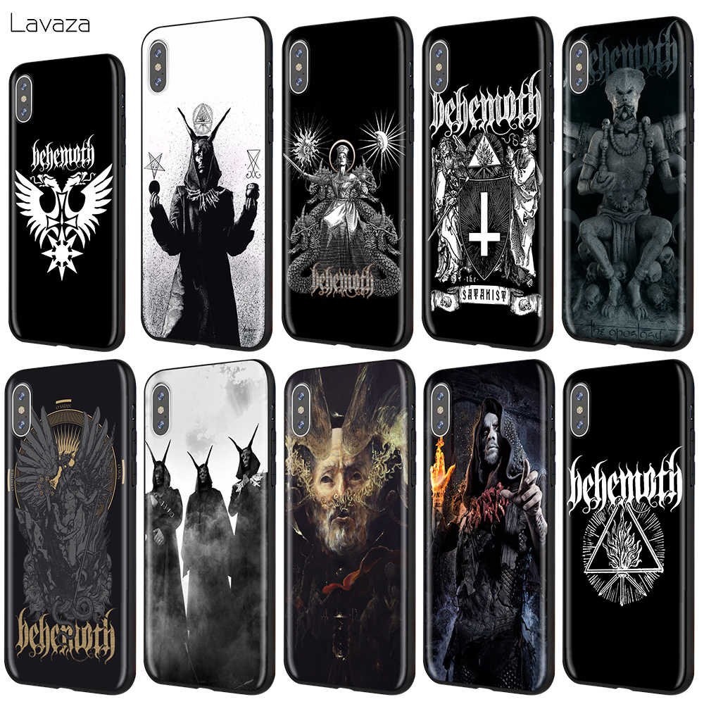 Lavaza Behemoth Rock Band Case for iPhone XS Max XR X 8 7 6 6S Plus 5 5s se