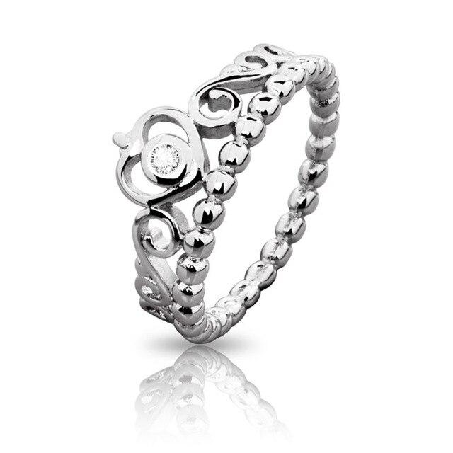 anello forma corona pandora
