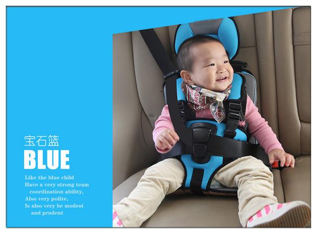 Cómodo caliente del bebé del coche de seguridad, alta calidad de seguridad del niño del bebé, 55 * 32 * 22 cm, regalos de cumpleaños del bebé asiento de coche para viajar