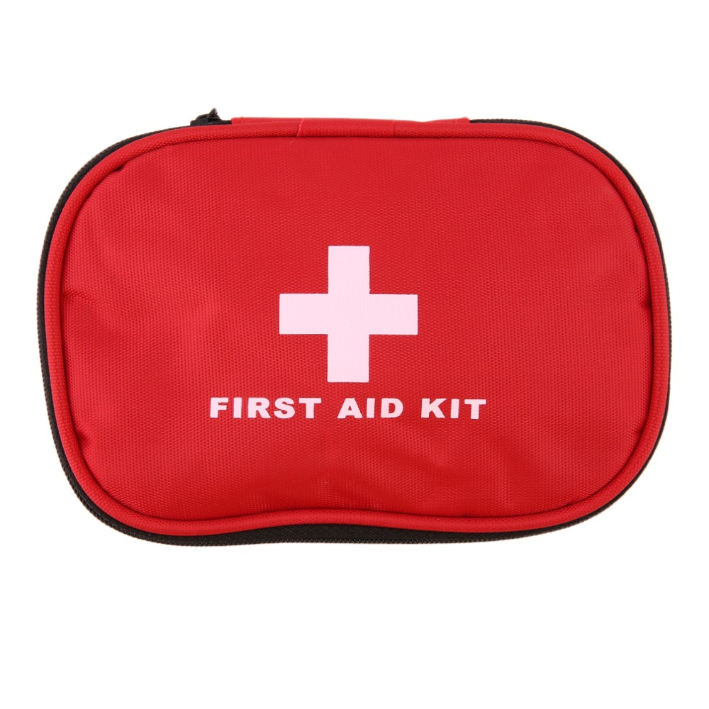 Outdoor Travel First Aid kit Mini Car First Aid kit bag Home Small Medical box Emergency Survival kit Size 15*10*5cm цена