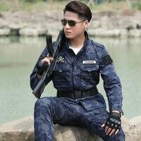 Military Uniform Camouflage Army Suit Uniforme Militar Tactical Jacket And Pant Combat CS Outdoor Training Uniforms