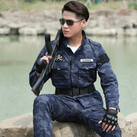 Military Uniform Camouflage Army Suit Uniforme Militar Tactical Jacket And Pant Combat CS Outdoor Training Uniforms