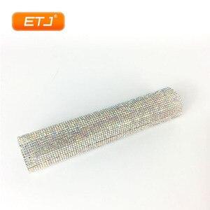 Image 3 - Étui de Microphone brillant de couverture de poche daccessoires de Microphone de Bling détape de Performance pour létape