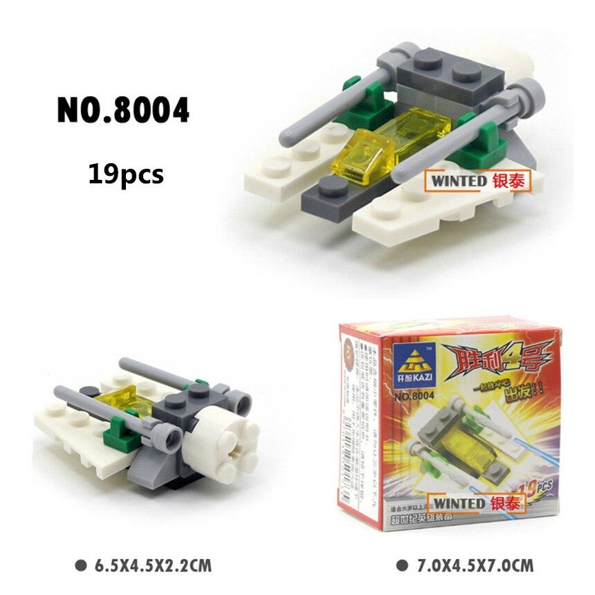 Mini bloques de construcción militares DIY montado transporte - Juguetes de construcción - foto 3