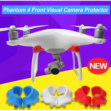 2pairs DJI Phantom 4 Front Visual System Camera Cover Eyes Protector Dustproof Dampproof Moistureproof Cap for DJI Phantom Drone(China)