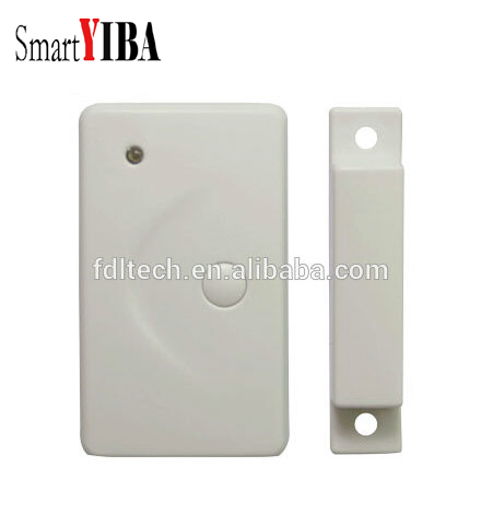 SmartYIBA Wireless Door Window Sensor Magnetic Contact 433MHz door detector Detect Door Open for Home Security Alarm System