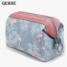 New Women Cosmetic Bag Portable Cute Multi-Functional Beautician  waterproof Makeup Bag travel Organizer Case toiletry bag