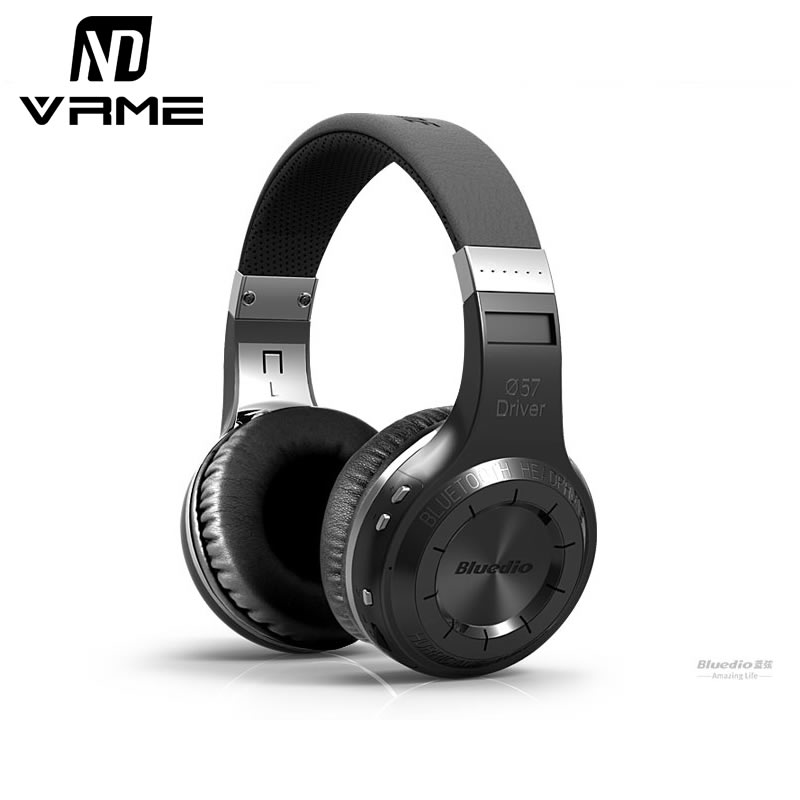 Prix pour Bluedio ht bluetooth casque hifi stéréo basse sans fil écouteurs antibruit casque avec microphone pour mobile téléphone tv